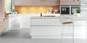 Lumina H Line Kitchens Oxford Showroom