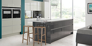Nevada H Line Bespoke Fitted Kitchen