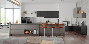 Luna Modern Bespoke Fitted Kitchen