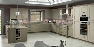 Buckingham Shaker Kitchen Witney Showroom Oxford