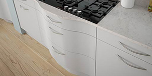 S-Shaped Drawers Kitchen Design Bespoke Oxford