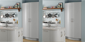 S-Shaped Kitchen Larder