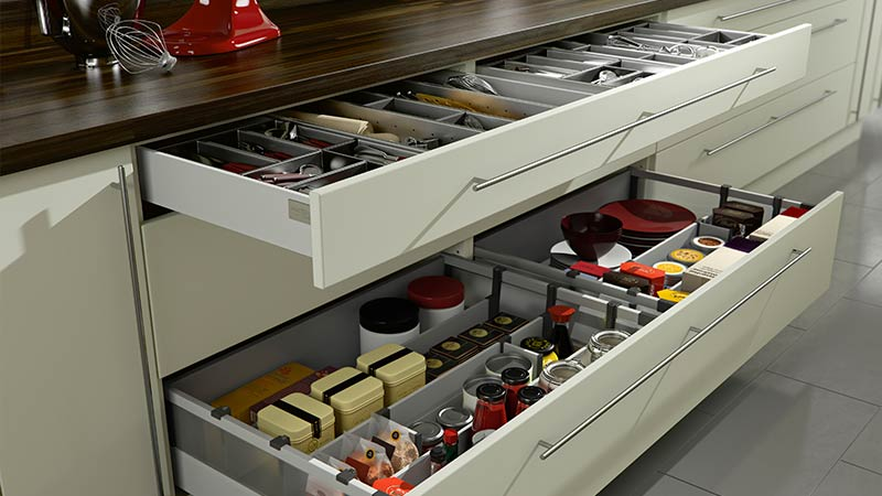 Extra Wide Kitchen Drawers Bespoke Kitchen Design Oxford
