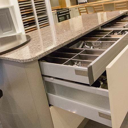 Concealed Drawer Space options